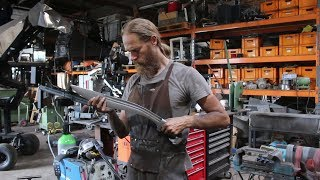 Forging a Falcata sword,  the complete movie.