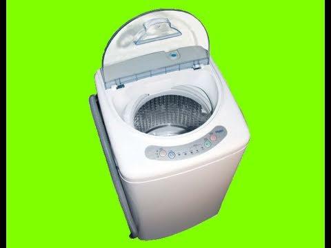 Haier HLP21N Portable Washing Machine - YouTube
