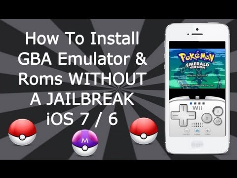 Install GBA Emulator & Games WITHOUT A JAILBREAK iOS 7 / 6