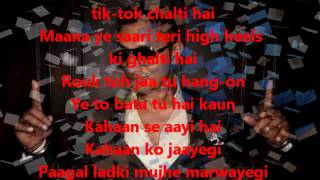 High Heels-yo Yo Honey Singh Lyrics.wmv