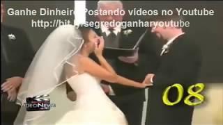 Broma, risas y fallos en bodas