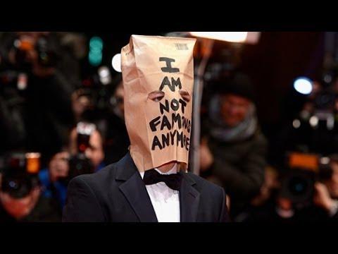 Shia LaBeouf Wears Paper Bag on Head to 'Nymphomaniac'