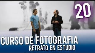 Curso de fotografía: Retrato en el estudio