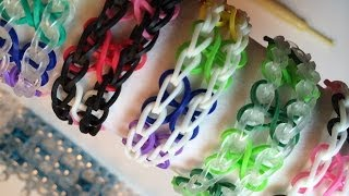 Rainbow Loom Beginners Four Leaf Clover Bracelet