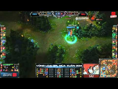 [GPL 2014 Spring] [Bảng B] Hanoi Dragons vs Saigon Jokers [30.12.2013]