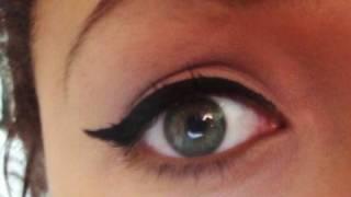 How To: Winged Eyeliner Tutorial