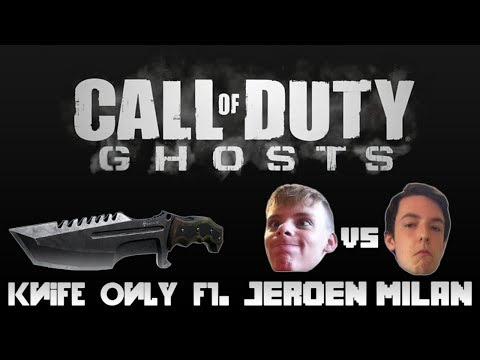 Milans neus, Milans internet, MILAN FAALT! - CoD: Ghosts Knife Only ft. Milan & Jeroen