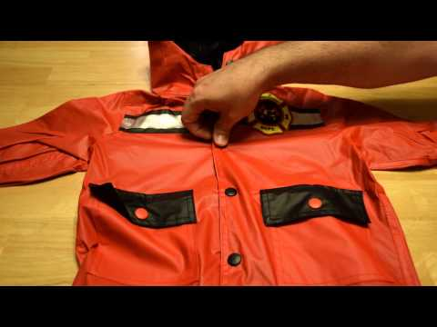 Raindrops - Toddler Raincoat - Firefighter