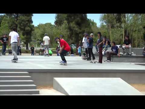 NORTH HOLLYWOOD SAFE SPOT SKATE SPOT MONTAGE