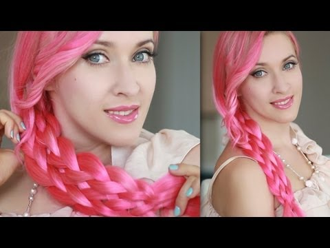 Mermaid braid - everyday hairstyle for long hair tutorial
