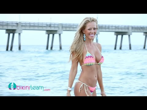 Michelle Baker Bikini Model in Florida Keys