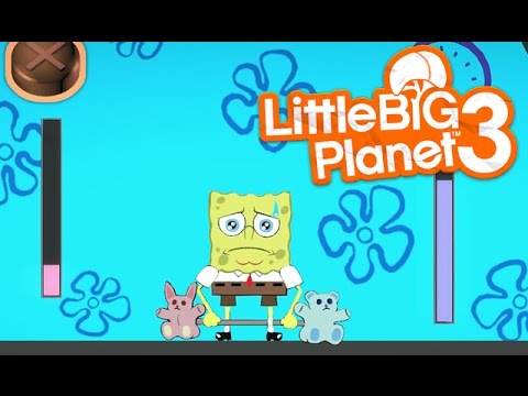 LittleBIGPlanet 3 - SpongeBob Squarepants [Playstation 4]
