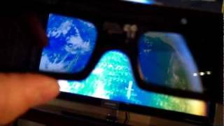Looking through Active 3D glasses Review