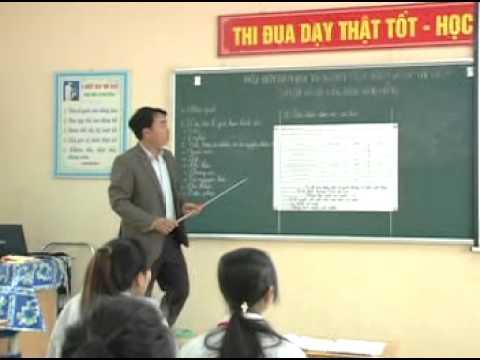 Video tiết dạy trên lớp của giáo viên - Nguyễn Văn Hiệp - BG