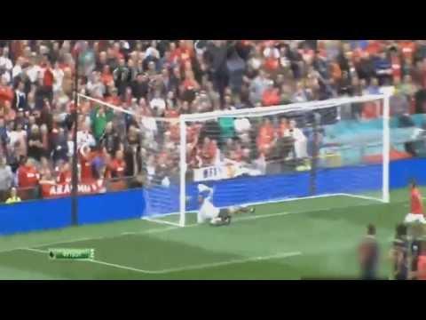 Manchester United vs Crystal Palace 2-0 Wayne Rooney Free kick Goal  HQ 14-09-2013