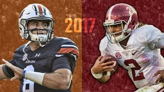 The Iron Bowl Trailer: Alabama at Auburn 2017