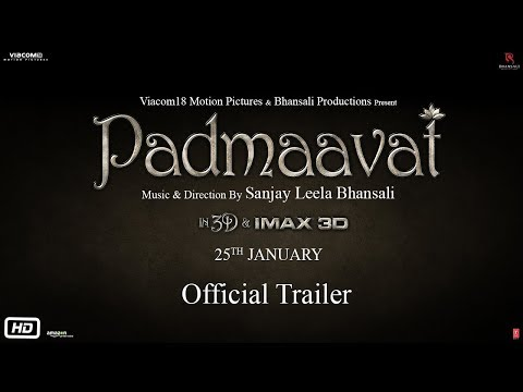 Padmavati | Official Trailer