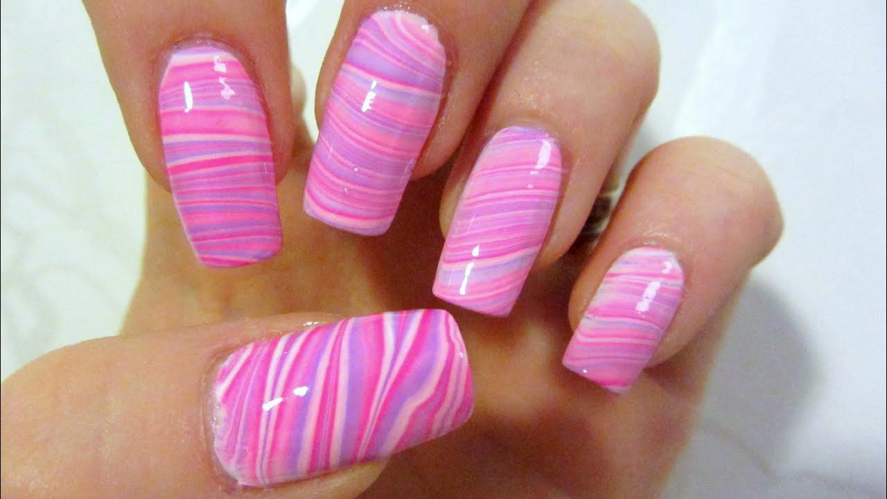 Beautiful Black White And Hot Pink Nail Designs Collection - Nail ...