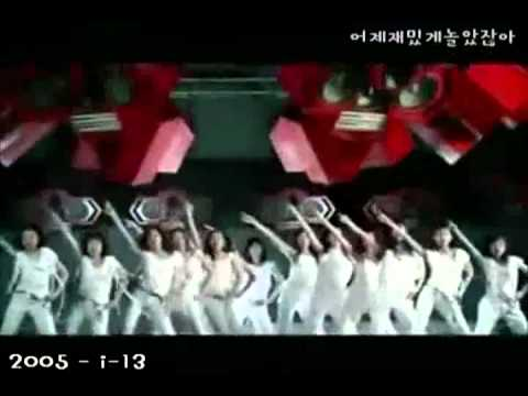 Kpop girl groups chronicle (1996-2011)
