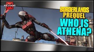 Borderlands The Pre-Sequel: WHO IS ATHENA?