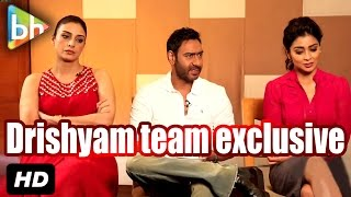 Ajay Devgn, Tabu, Shriya Saran Interview On Drishyam