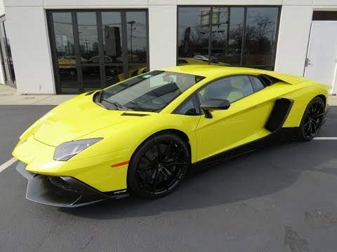 2014 Lamborghini Aventador LP720-4 50° Anniv. Start Up, Exhaust, Test Drive, and In Depth Review