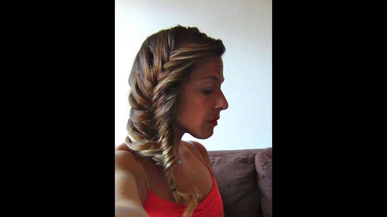 Tuto coiffure 50 tresse epi romantique cheveux mi longs et longs youtube  Tuto coiffure cheveux mi long