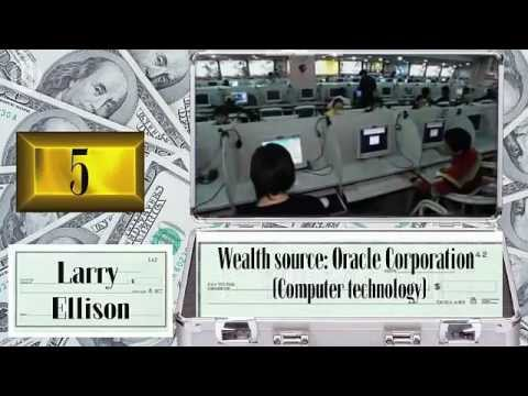 Money:  ten richest People in The World