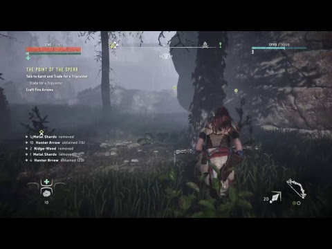 toorima's PS4 Broadcast: Horizon Zero Dawn (1st Hour)