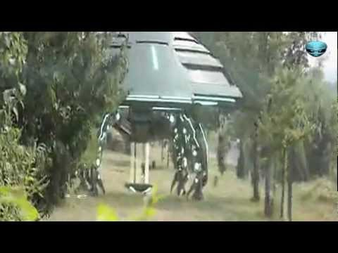 UFO Lands In China With Aviator? 2012 HD, Footage filmed in the National Forest Park of Fuxin, China, 2012. A small group of friends out for the day spotted a silver object descend behind some trees ...