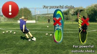 How To Shoot A Soccer Ball With Power Vollspann Tutorial