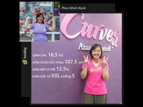 Curves thể dục 30 phút cho nữ