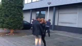 Fight After Aster aweke´s concert june 7 2014 in amesterdam