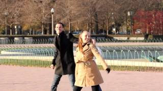 Flash Mob Proposal In Buckingham Fountain, You'll Love Her