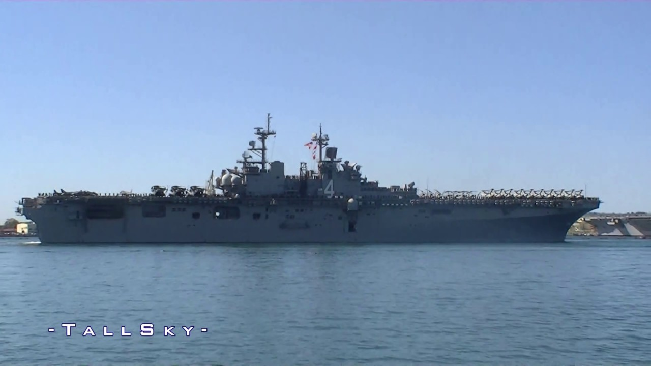 us navy  uss boxer  lhd