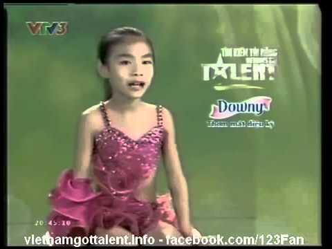 Đinh Thùy Dương  Việt nam got talent 2013 bán kết