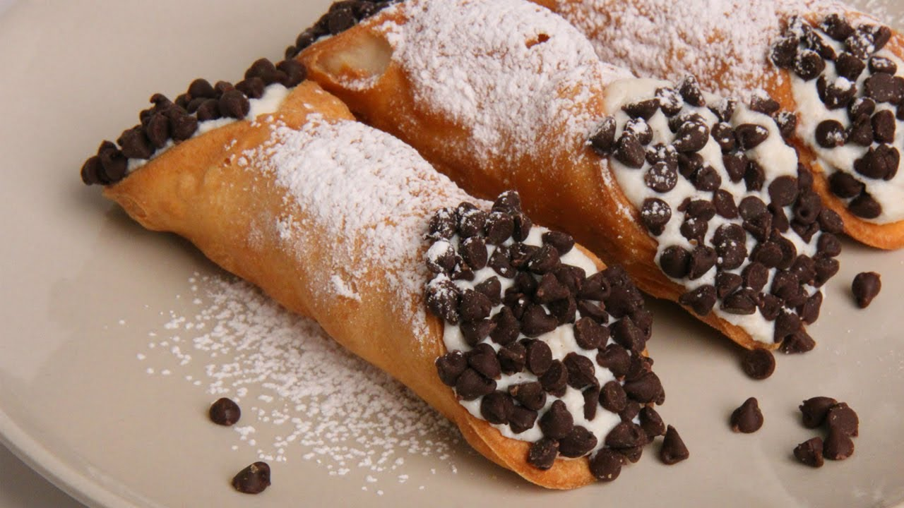 Homemade Cannoli Recipe Laura Vitale Laura In The