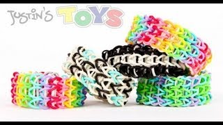 How To Make A All Around Triple Rainbow Loom Bracelet