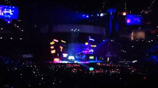 Beginning of Lady Gaga Concert @ KFC Yum! Center in Louisville, KY (3/12/11)