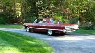 63 Chevy Impala Ss 409 Launch