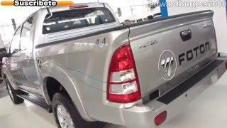 Foton Tunland 4x4 2013 Precio Colombia Video Auto Show