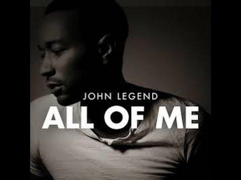 JOHN LEGEND - ALL OF ME// LYRICS & CHORDS