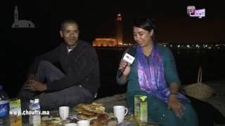 فطور مع ولاد: الشعب أجواء من أمام مسجد الحسن الثاني رفقة تاجر بدرب عمر | نفطرو مع ولاد الشعب