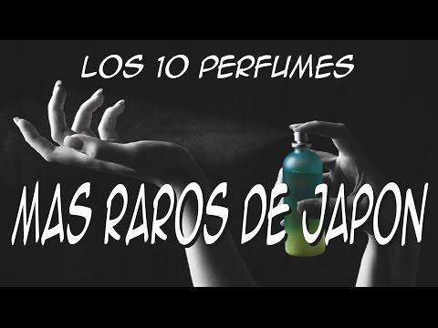 Los 10 perfumes más raros de Japón