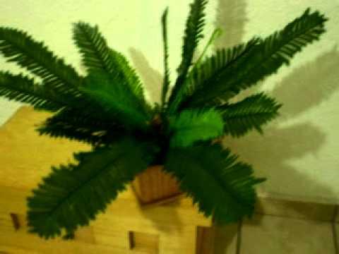 Plantas artificiales y arboles de decoraci n youtube for Plantas ornamentales artificiales