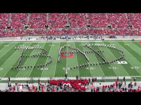 Ohio State Marching Band Michael Jackson Halftime Show 10 19 2013 vs Iowa TBDBITL