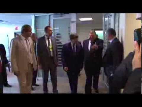 Türkischer Außenminister Ahmet Davutoglu trifft Amtskollegen Evangelos Venizelos in New York