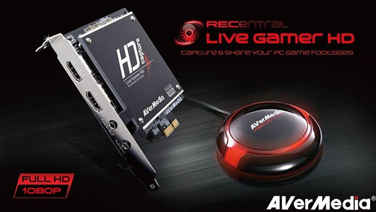 AVerMedia Live Gamer HD - Распаковка и установка