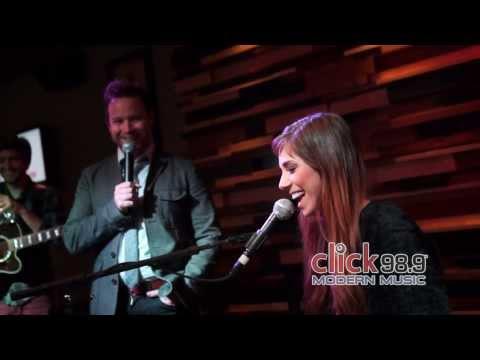 Click 98.9 Acoustic Lounge: Christina Perri