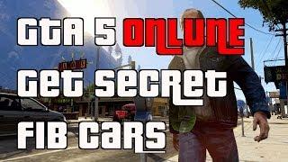 GTA 5 Online Secret FIB Cars Location + Store In Garage
